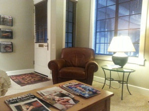 Waiting Room, The Psychology Offices, 1215 De La Vina, Suite F